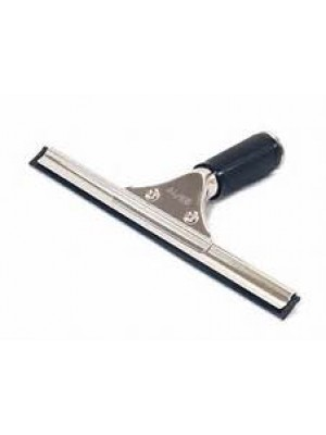 "280200 10"" STAINLESS WINDOW SQUEEGEE W/RUBBER BLADE"