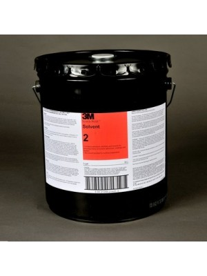 3M (2) Solvent 2 Clear, 5 Gallon Pail [You are purchasing the Min order quantity which is 5 Gallons]