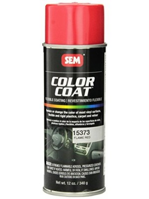 SEM 15373 Flame Red Color Coat - 12 oz.