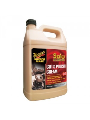 Meguiar's M86 Mirror Glaze Solo Cut & Polish Cream - 1 Gallon