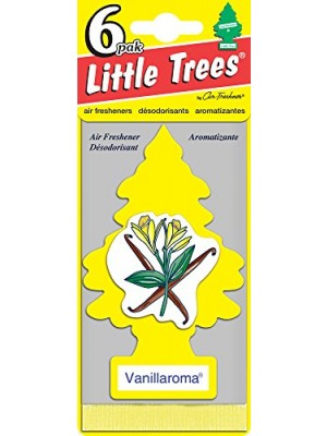Little Trees Vanillaroma Air Freshener, (Pack of 24)