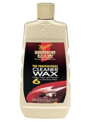Meguiar's M6 Mirror Glaze Cleaner Wax - 16 oz.