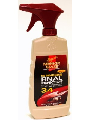 Meguiars #34 Final Inspection, 16 oz Pump Spray