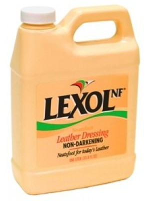 Lexol Neatsfoot Formula Leather Restorer, 1 Liter Bottle
