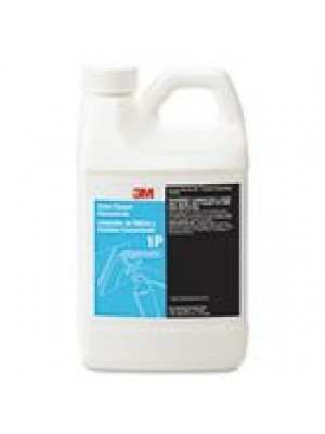 3M Glass Cleaner Concentrate 1P, Apple, 1900mL Bottle, 6/Carton