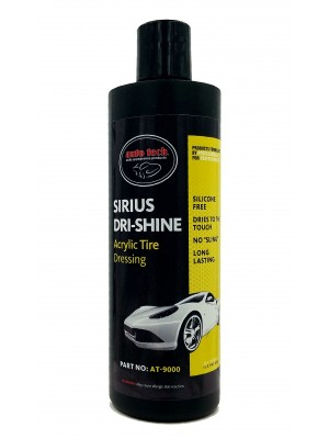 AT-9000P AUTO TECH SIRIUS DRI-SHINE ACRYLIC TIRE DRESSING
