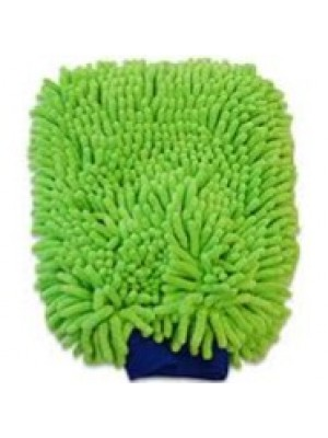 AT911 CHENILLE WASH MITT-GREEN